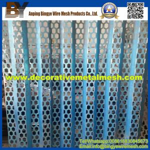 Hexagonal Perforated Metal Mesh for Protective Enclosures pictures & photos