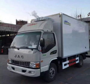 4X2 6ton Refrigerated Truck pictures & photos