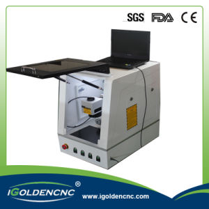 Metal Table Type Laser Marking Machine with Ce Certificates pictures & photos