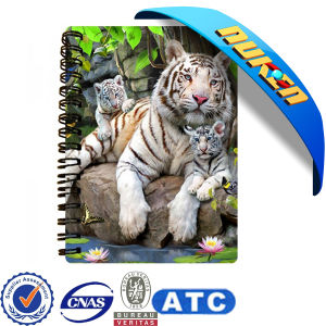Custom Spiral Notebook with Hard Cover pictures & photos