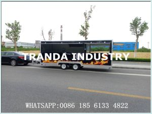 2017 China Supply Catering Hot Dog Custom Street Mobile Food Trailer Food Truck with Wheels pictures & photos