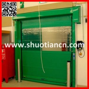 EU Standard Industrial Auto Fast Shutter Door (ST-001) pictures & photos