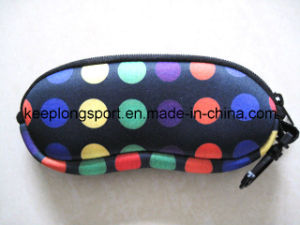 Fashionable Waterproof Neoprene Glasses Pouch, Neoprene Case pictures & photos