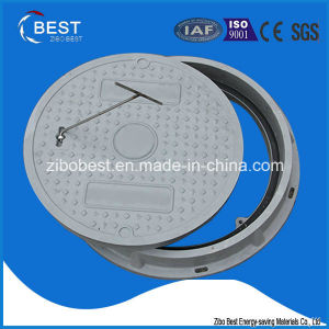 A15 Round 500*30mm FRP GRP Anti Theft Manhole Cover pictures & photos