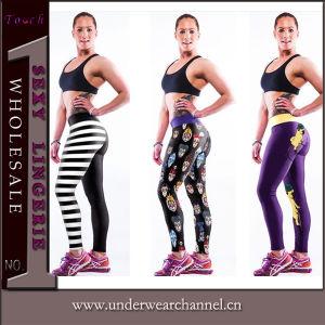Women′s Fintess Yoga Gym Running Triathlon Workout Tight Legging (TYDC008) pictures & photos