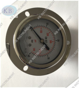 Lower Connection Liquid Filling Pressure Gauge pictures & photos