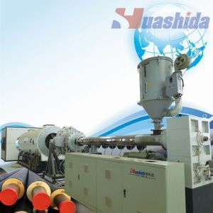 Polyethylene Sheath Extrusion Line for Pre-Insulated Pipe with Polyurethane Foam (420-960mm) pictures & photos