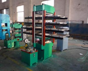 Rubber Tile Plate Vulcanizing Press Machine pictures & photos