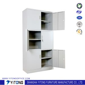 Yitong 6-Door Metal Storage Cabinet / Office Use Steel File Cabinet pictures & photos