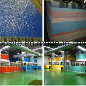 Ripple Look FRP Honeycomb Panel for Pet Shelter pictures & photos