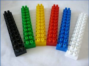 PA12h Colorful Polyamide Strip Terminal Block pictures & photos