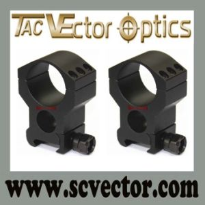 Vector Optics 30mm Heavy Duty Extreme High Picatinny Scope Mount Ring 6 Bolts pictures & photos