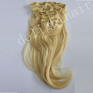 Virgin Brazilian Full Head Clip in Hair Extensions Nhcl002
