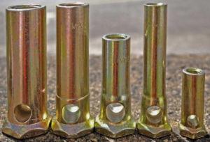Australia Precast Building Tilt-up Stiletto Round Bar Ferrules (M10X45) pictures & photos