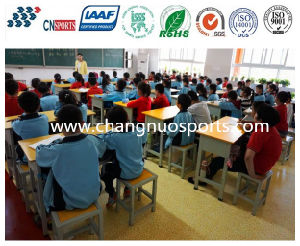 Good Quality Beautiful School Flooring for Classroom, Reading Room pictures & photos