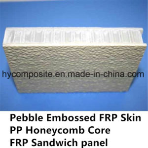 Embossed FRP Pre-Laminated PP Honeycomb Panel for Prefab House pictures & photos
