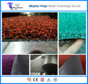 100% Recycled Materials Anti-Slip PVC Coil Door Mat pictures & photos