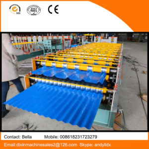 Dx 825 and 840 Double Layer Roof Tile Making Machine Made in China pictures & photos