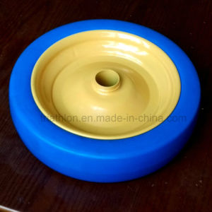 """8"""" 9"""" 10"""" 12"""" 14"""" 16"""" 18"""" 20"""" 22"""" 24"""" 26"""" Flat Free Solid Rubber Wheel pictures & photos"""