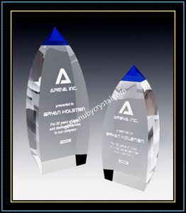 Blue Crystal Award Vertex Tower for Player 9 Inch Tall pictures & photos