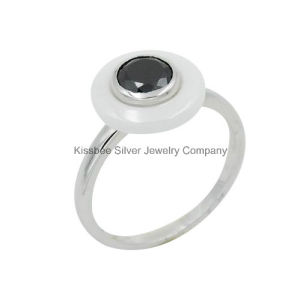 Wholesale Ceramic 925 Stering Silver Ring Jewellery (R21112) pictures & photos