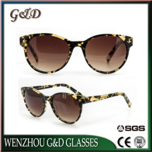 High Quality Latest Design Acetate Fashion Sunglasses 2404-22 pictures & photos