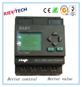 Programmable Relay for Intelligent Control (ELC-12DC-DA-TP-HMI) pictures & photos