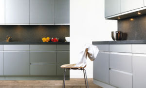 High Gloss UV Lacquer Kitchen Cabinet (ZX-010) pictures & photos