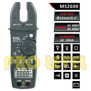 4000 Counts Digital AC and DC Fork Meter (MS2600) pictures & photos