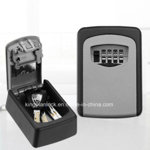 4 Digits Combinaton Mounted Storage Key Box pictures & photos