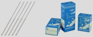 Acupuncture Needles with Silver Handle Needle, with Guide Tube pictures & photos