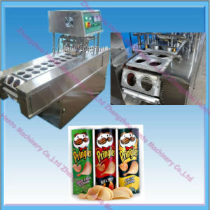 Automatic Potato Chips Paper Cup Sealing Machine pictures & photos