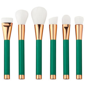 Green Handle Makeup Brush Sets with Private Label pictures & photos