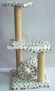 Cat Toy Pet House Furniture Pet Scratcher Cat Tree pictures & photos
