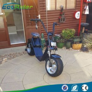 Ecorider Electric Scooter 60V 12ah Harley Electric Scooter 1200W Citycoco pictures & photos