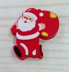 Christmas Gift Cartoon 3D USB Flash Drive Soft PVC Flash Memory pictures & photos