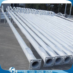 9m/10m/12m Octagonal Grey Double Arm AC Tradtional Street Lighting Pole pictures & photos