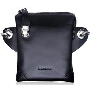 2015 Men Shoulder Strap Genuine Leather Waist Bag