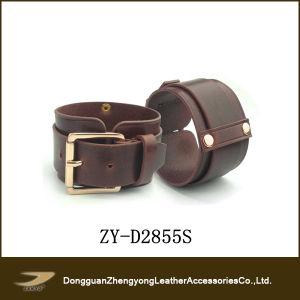 Popular Cowhide Leather Bracelet (ZY-D2855S)