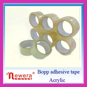 Super Clear Low Noise BOPP Adhesive Packing Tape pictures & photos