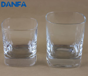 230ml & 340ml Square Old Fashioned Glass Set pictures & photos