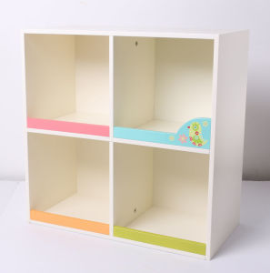 Factory Supply Wooden Storage Case Storage Container Kids Furniture pictures & photos