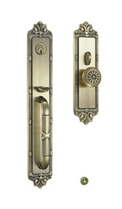 Antique Brass American Mortise Entrance Door Handle Lock pictures & photos