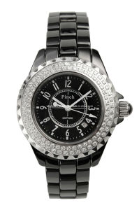 Fashion Cerami with Diamond Watch (CW001B)