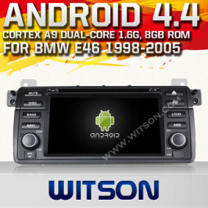 Witson Android 4.4 System Car DVD for BMW E46 (W2-A7212) pictures & photos