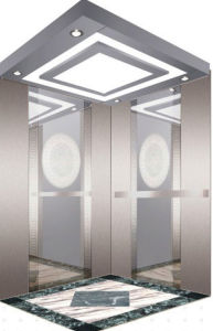 Stainless Steel Mirror Etching Passenger Lift/Elevator pictures & photos