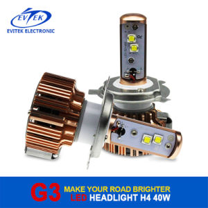 2016 LED Headlight China Manufacturer 12 Months Warranty H1 H3 H7 H11 H13 9004 9005 9006 9007 pictures & photos