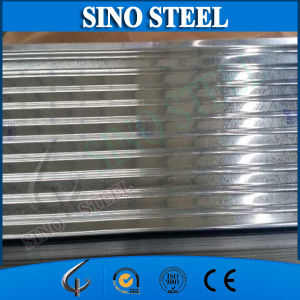 G550 Z120 Galvanized Corrugated Steel Sheet for Sandwich Panel pictures & photos