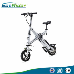 Newest E6 Portable Folding Electric Bicycle with Brushless Motor 250W pictures & photos