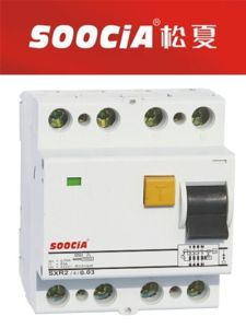 Sxr2 RCCB Residual Current Circuit Breaker F7 4p